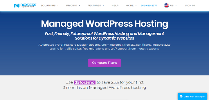 nexcess wordpress hosting