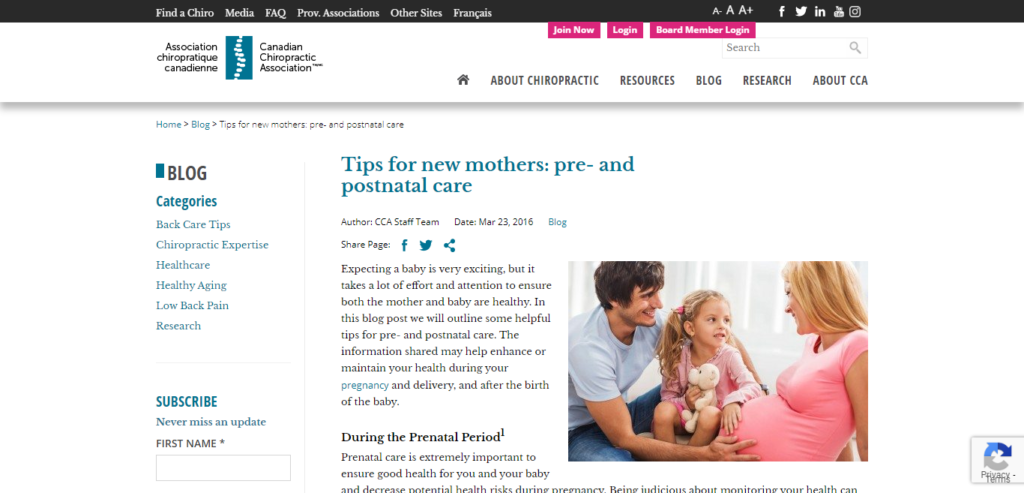 prenatal and postnatal blog