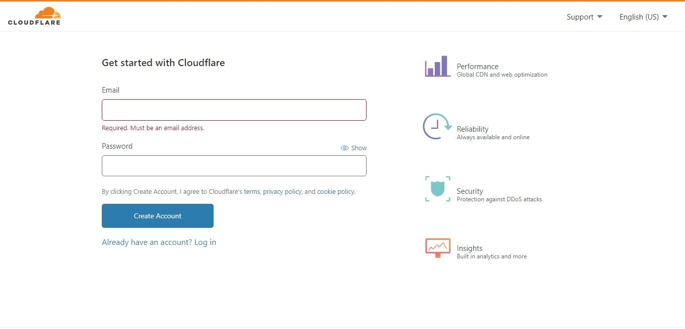 how to add free cloudflare cdn to your blog