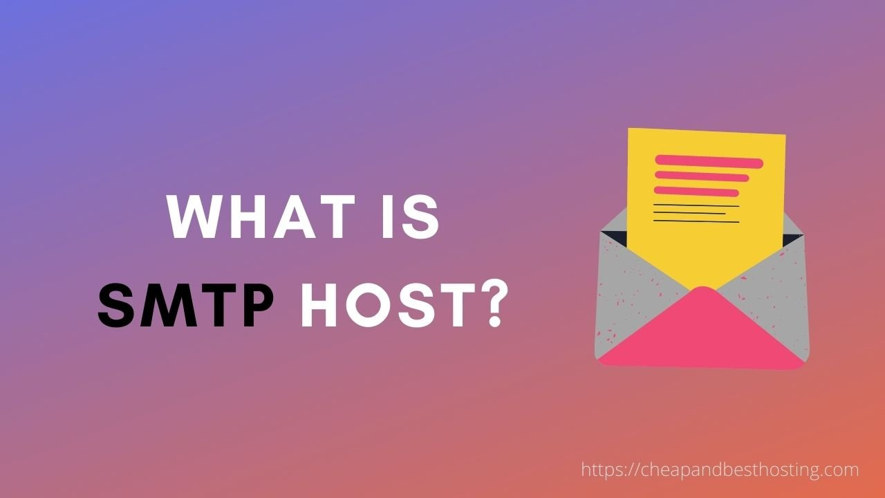 what is smtp host