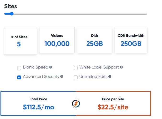 bionicwp cost