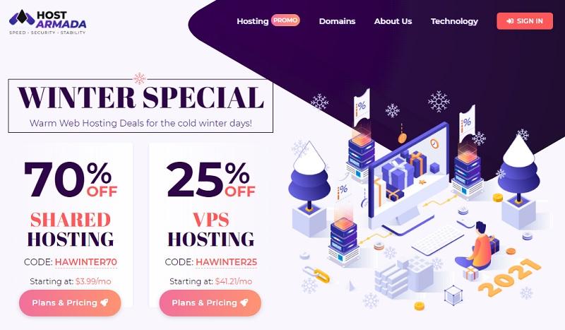 hostarmada web host