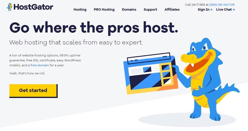 hostgator alternative to bluehost hosting