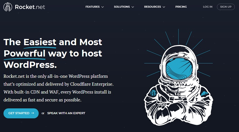 rocket alternative to bluehost hosting