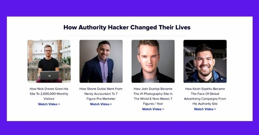 authority hacker affiliate marketing course for beginners