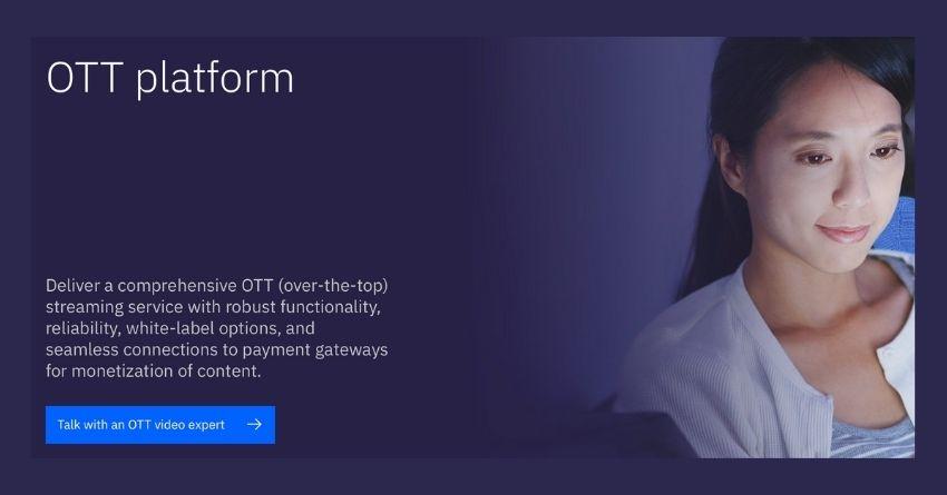 ibm cloud ott platform