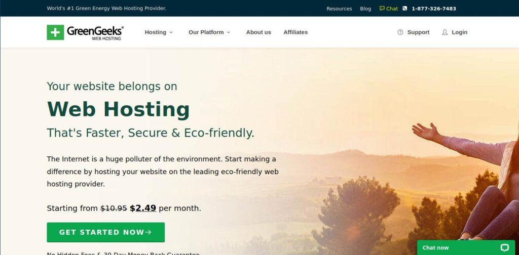 greengeeks as namecheap competitors and alternative
