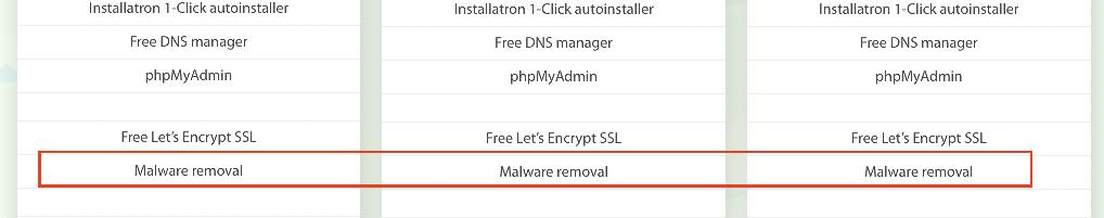 hostens malware removal policy