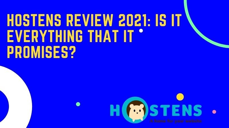 hostens review and pricing details