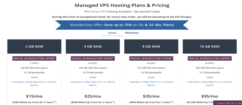 liquidweb vps plans are better than kinsta