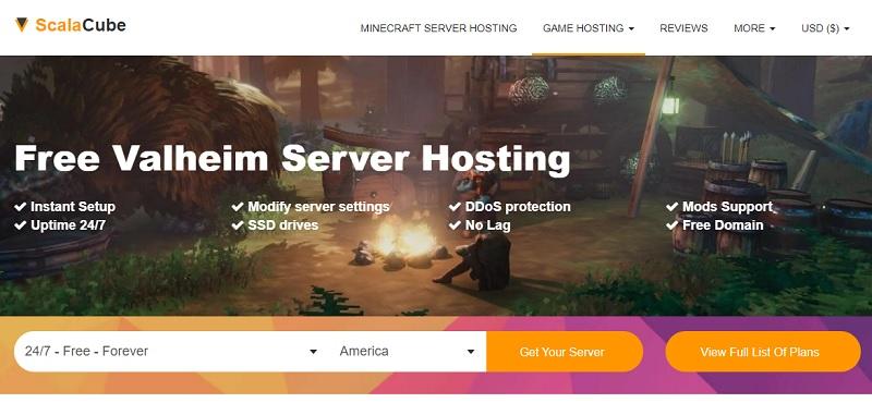 scalacube valheim server hosting