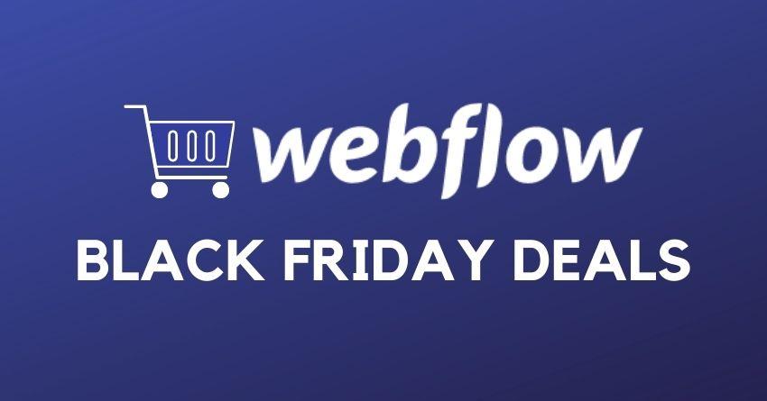 webflow black friday deals