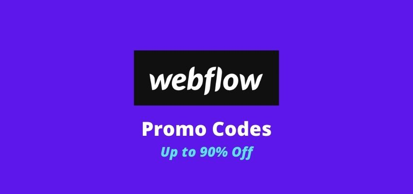 webflow promo code and discount coupons