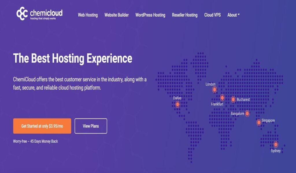 Chemicloud hosting