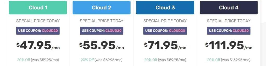 FastComet Cloud VPS Hosting Plan
