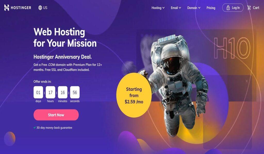 Hostinger hostings