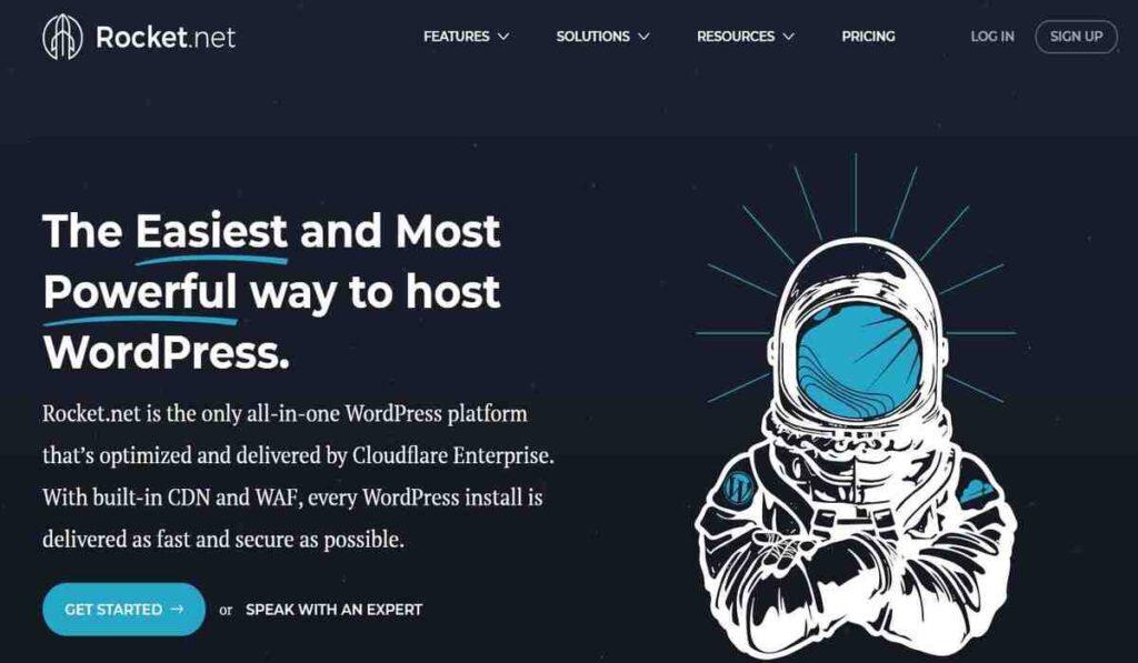 Rocket.net Hosing