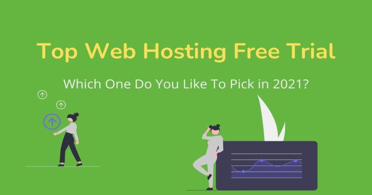 Top Web Hosting Free Trial