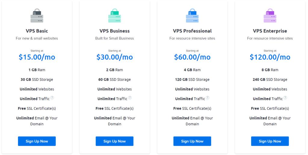 Bluehost VPS alternatives dreamhost plan