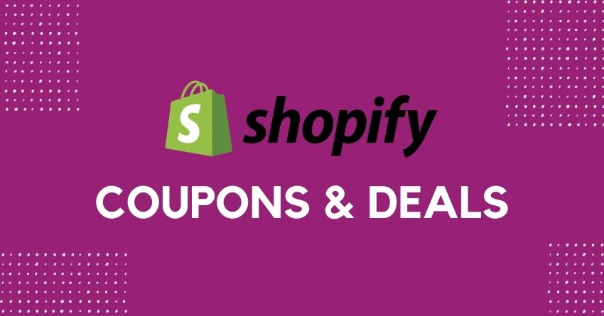 shopify coupons and deals