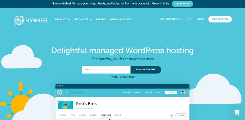 managed wordpress hosting for Canada by Flywheel