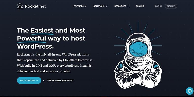 rocket.net wordpress hosting for Canadian users