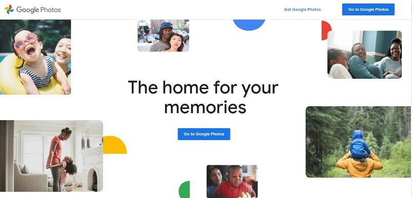 Google photos for free image hosting