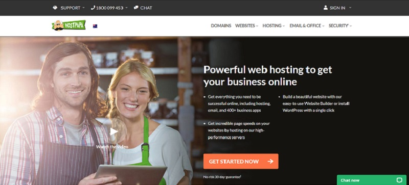 Best web hosting canada by HostPapa