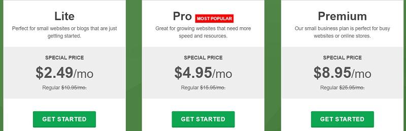 webhosting plans