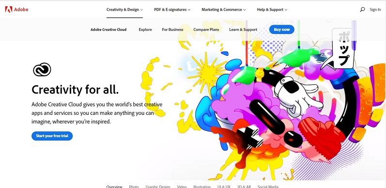 Free image hosting by adobe creative cloud
