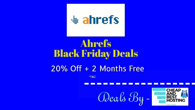 Ahrefs Black Friday deals