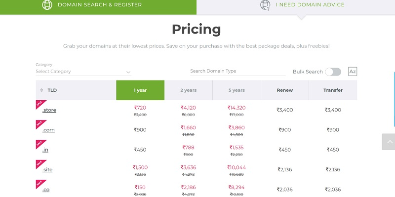Crazy domain pricing