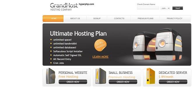 hyperphp database hosting