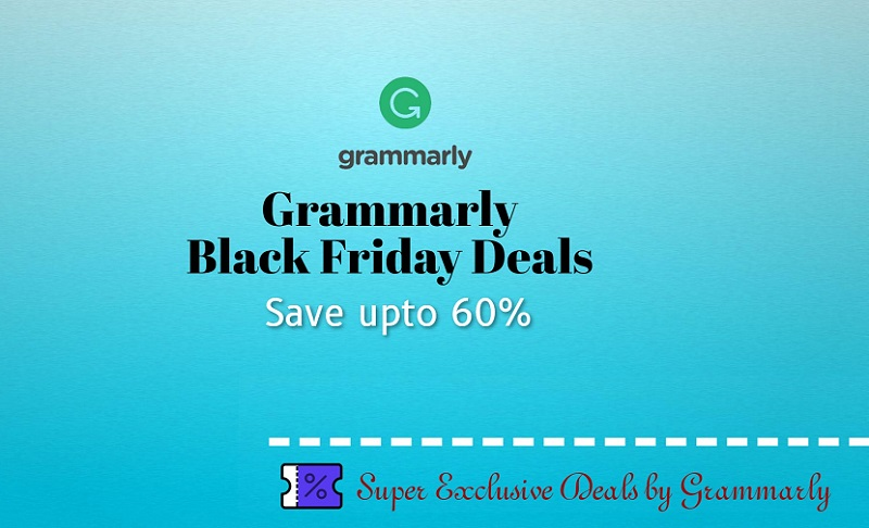 grammarly Black Friday discount deals and offers