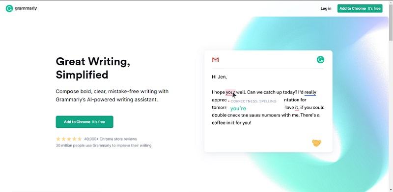 Grammarly offers