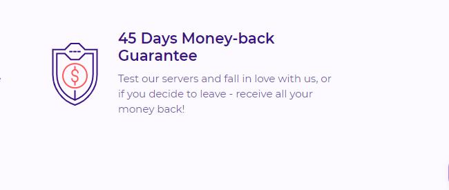 HostArmada money-back guarantee