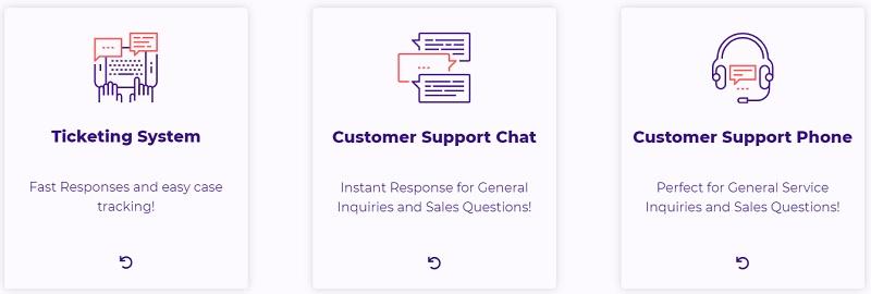 HostArmada customer support system