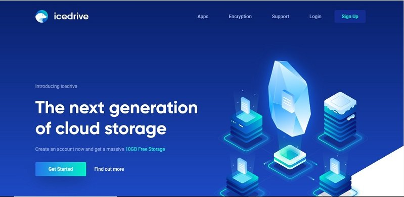 Icedrive free image hosting