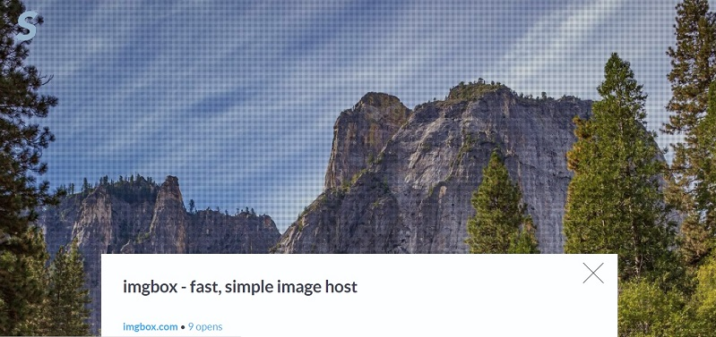 Imgbox free hosting for images