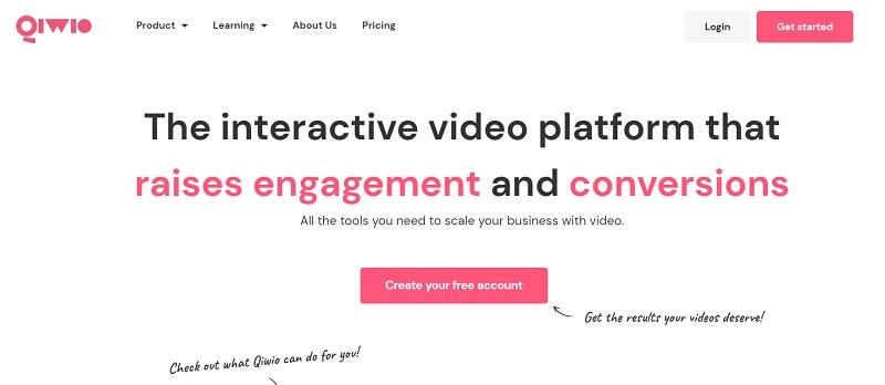 qiwio video hosting