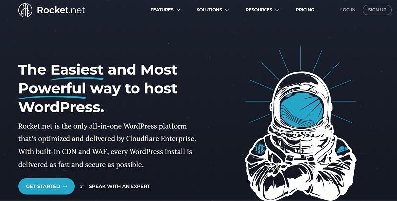 Rocket.net Hosting in USA