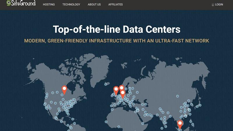 siteground datacenters