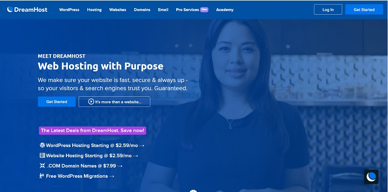 DreamHost Introduction