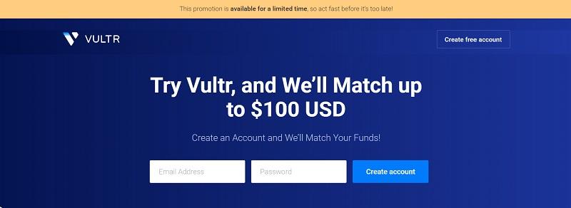 Vultr Match Credit