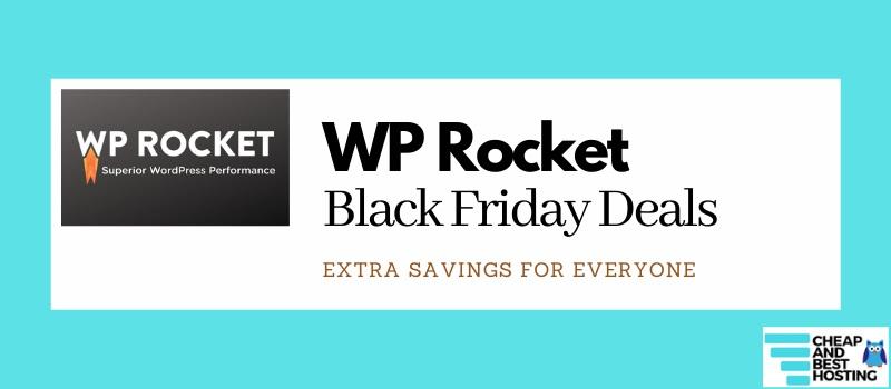 WP Rocket Black Friday Deals