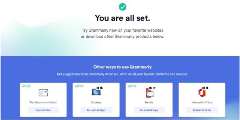 access grammarly