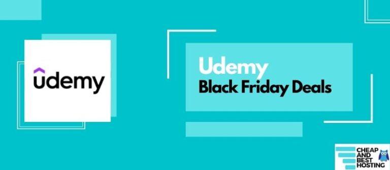 black friday deals of udemy