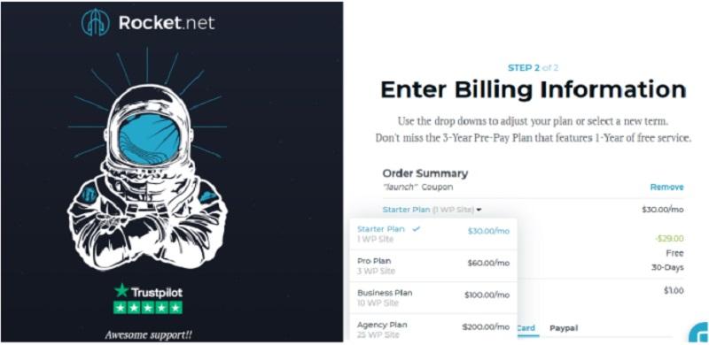rocket net coupon