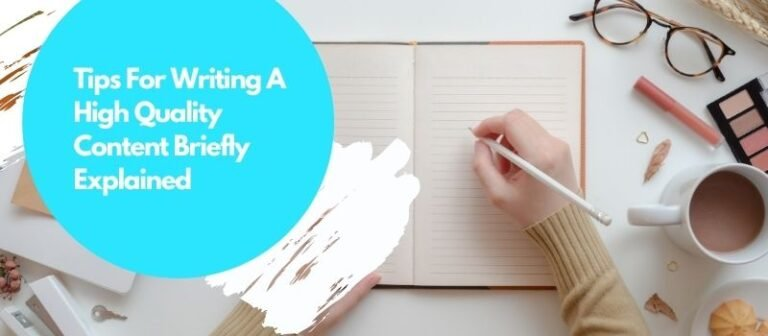 tips for writing a high quality content
